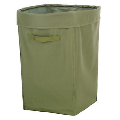 Green Canvas Hamper