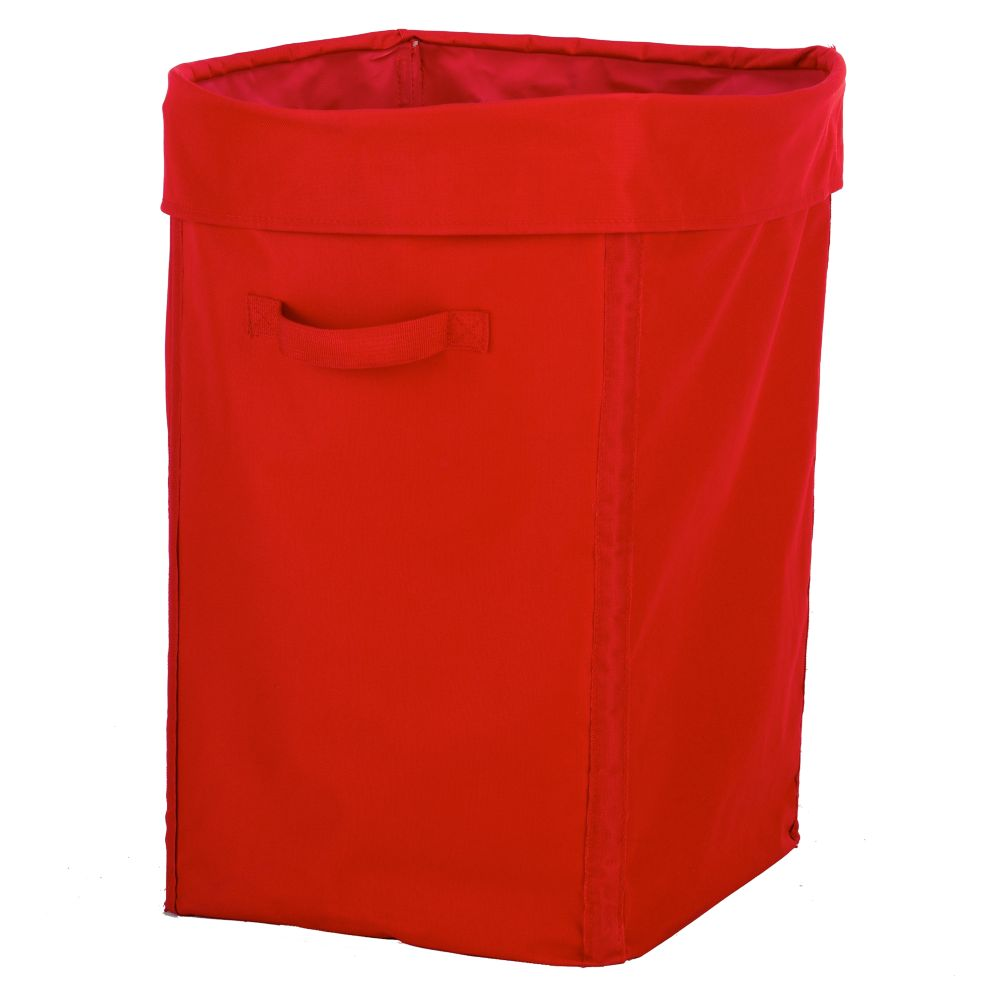 I Think I Canvas Hamper (Red)