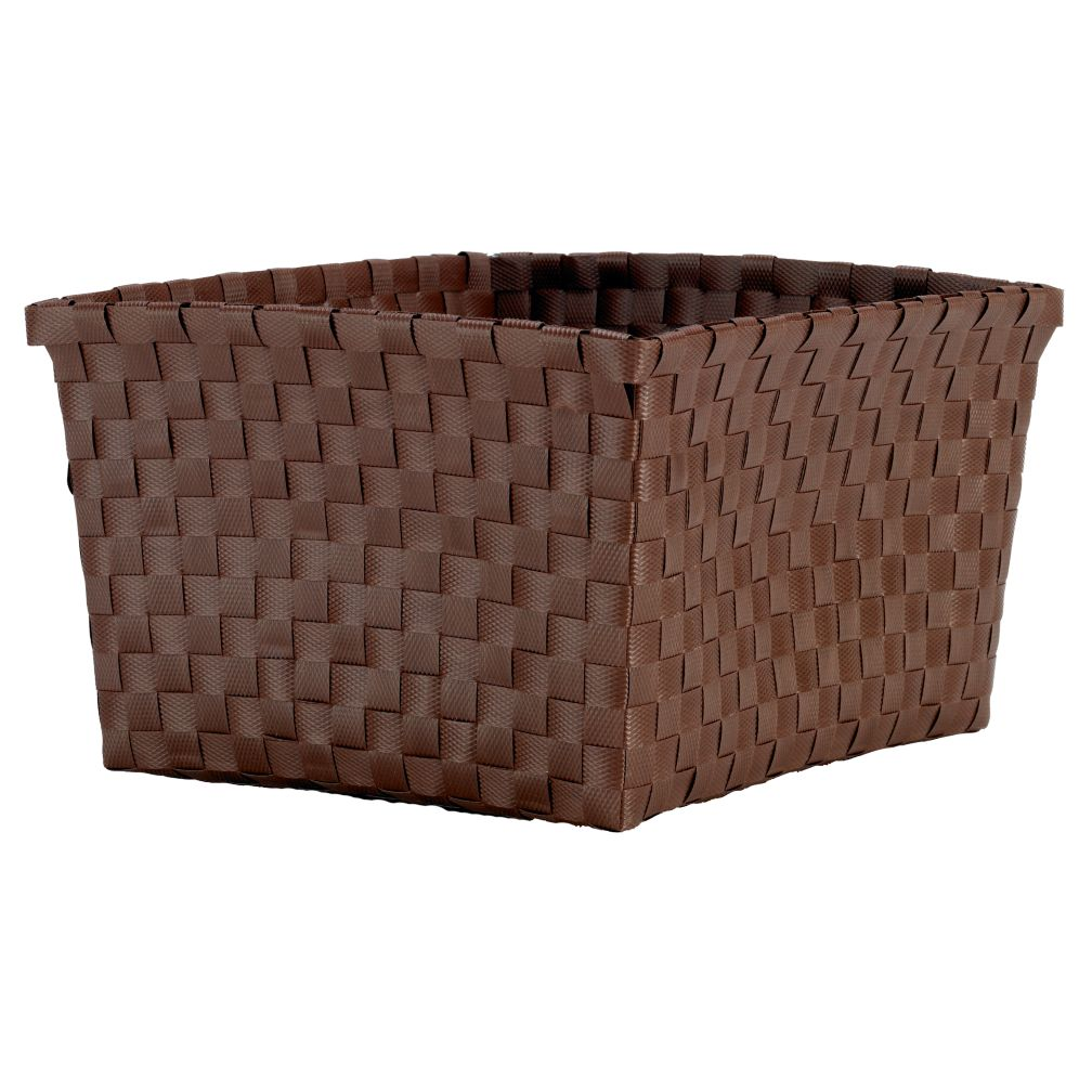 Strapping Shelf Basket (Brown)