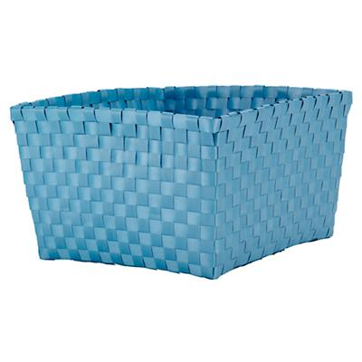 Strapping Shelf Basket (Lt. Blue)