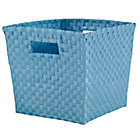 Lt. Blue Cube Bin