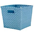 Lt. Blue Cube Bin