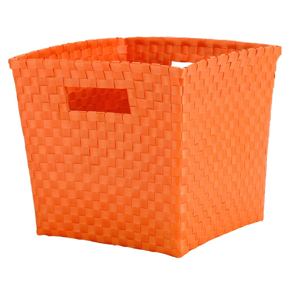 Strapping Cube Bin (Orange)