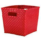 Red Cube Bin