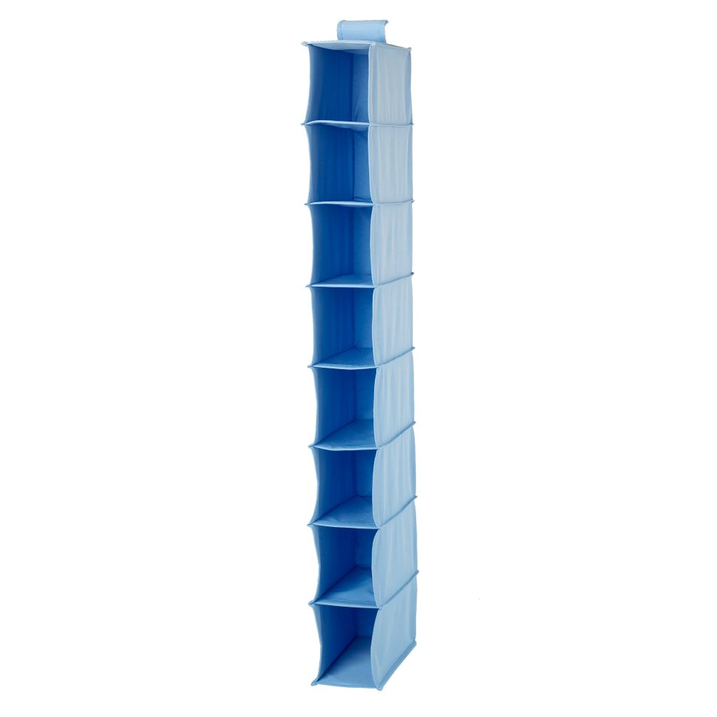 I Think I Canvas Narrow Hanging Organizer (Lt. Blue)