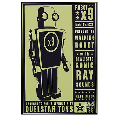 Robot Wall Art (Framed)