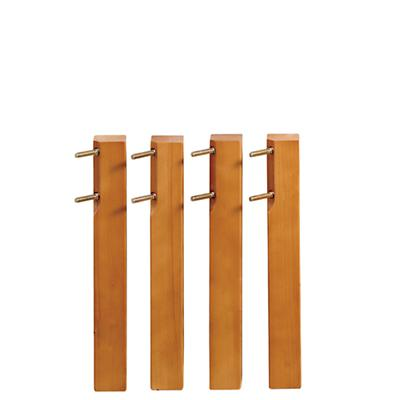 Low Lt. Honey Activity Table Legs (Set of 4)