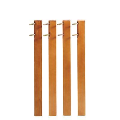 Medium Lt. Honey Activity Table Legs