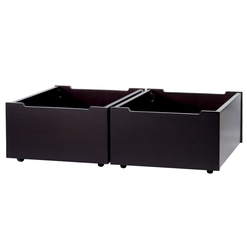 Activity Table Storage Bins Set (Espresso)