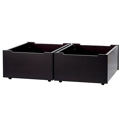 Activity Table Espresso Storage Bins