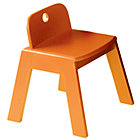 "Orange Mojo Play ChairFloor to Seat: 14"" H"
