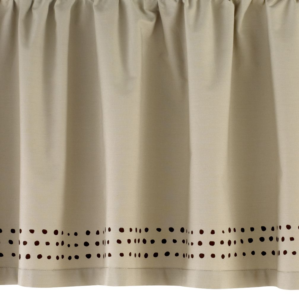 Sleepin&#39; Safari Crib Skirt