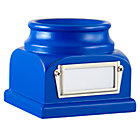 Blue Lucky Baseball Holder