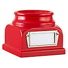 Red Lucky Baseball Holder