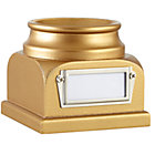Gold Lucky Baseball Holder