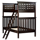 Espresso Twin Simple Bunk Bed