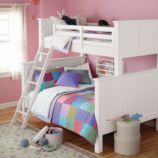 Walden Twin-Over-Full Bunk (White)