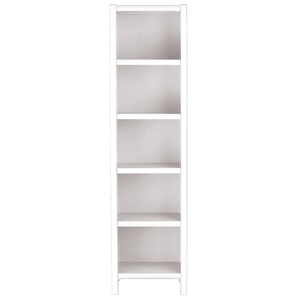 5-Cube Bookcase (White)