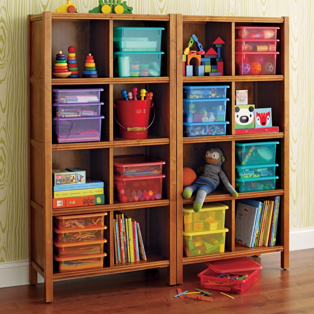8-Cube Bookcase (Light Honey)