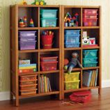 8-Cube Bookcase (Lt. Honey)