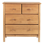 Natural 2-Over-2 Dresser