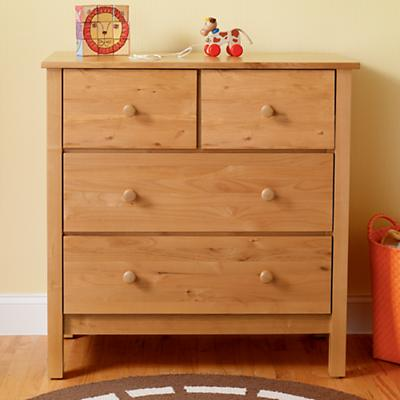 Simple 2-Over-2 Dresser (Natural)