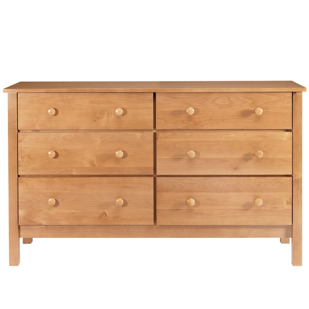 Natural 6-Drawer Dresser