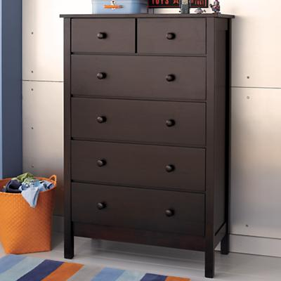 Simple 2-Over-4 Dresser (Espresso)