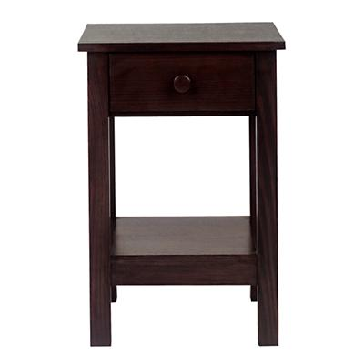 Simple Nightstand (Espresso)
