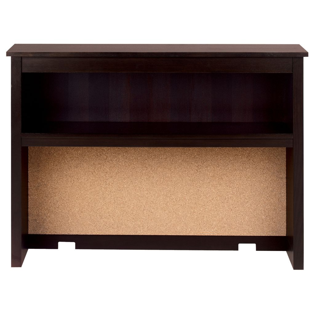Simple Desk Hutch (Espresso)