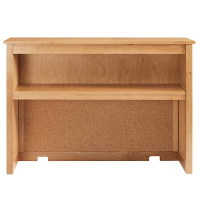 Simple Desk Hutch (Natural)