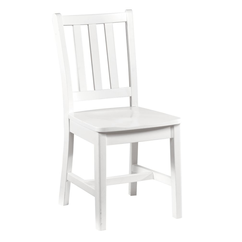 Parker Desk Chair (White)