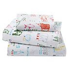 Twin Field Guide Sheet Set(includes 1 fitted sheet, 1 flat sheet and 1 case)