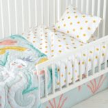 Marine Queen Toddler Sheet Set