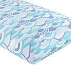 Blue Marine Queen Crib Fitted Sheet