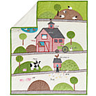 Moo Moo Farm Crib Quilt