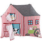 Moo Moo Barn Throw Pillow