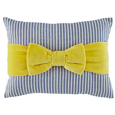 Beaucoup Bow Throw Pillow