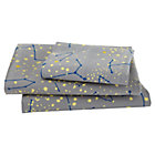 Twin Orion's Sheet Set(includes 1 fitted sheet, 1 flat sheet and 1 case)