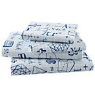Full Show Your Work Sheet Set(includes 1 fitted sheet, 1 flat sheet and 2 cases)