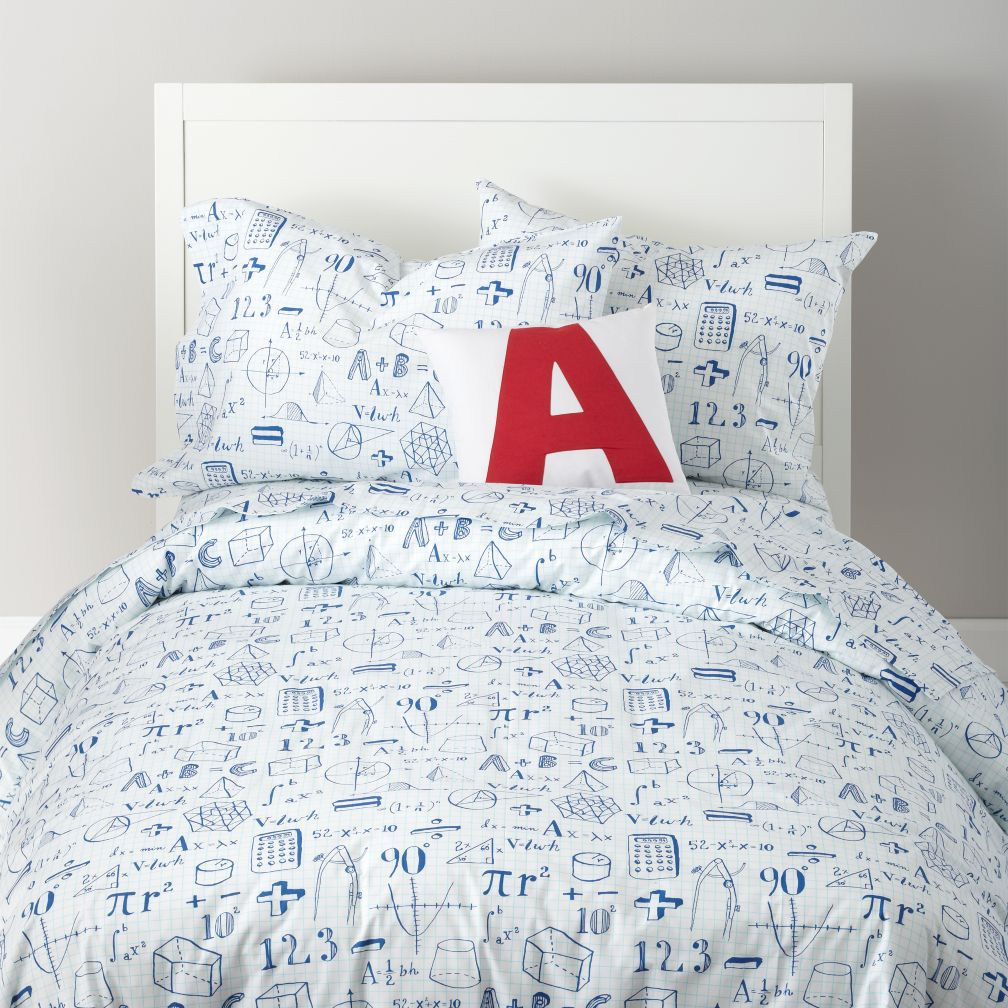 Show Your Work Bedding