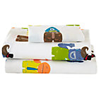 Twin Creatures From Another Sheet Set(includes 1 fitted sheet, 1 flat sheet and 1 case)