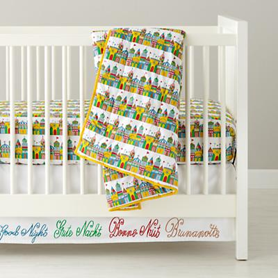 Baby Bedding: International Goodnight Crib Bedding in Crib Bedding