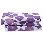 Twin Poppy Sheet Set(includes 1 fitted sheet, 1 flat sheet and 1 case)