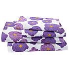 Full Poppy Sheet Set(includes 1 fitted sheet, 1 flat sheet and 2 cases)