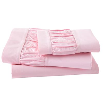 Thrilled to be Frilled Pink Sheet Set (Twin)