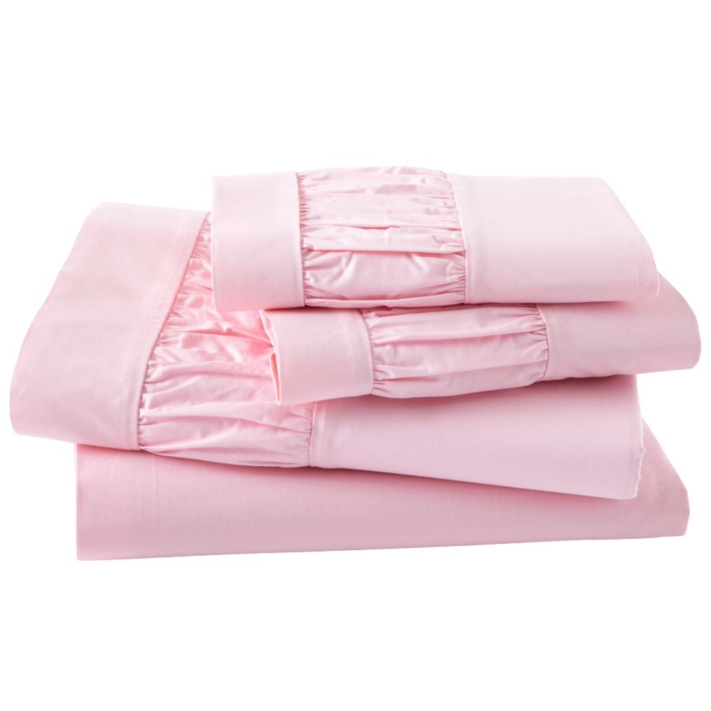Thrilled to be Frilled Pink Sheet Set (Queen)