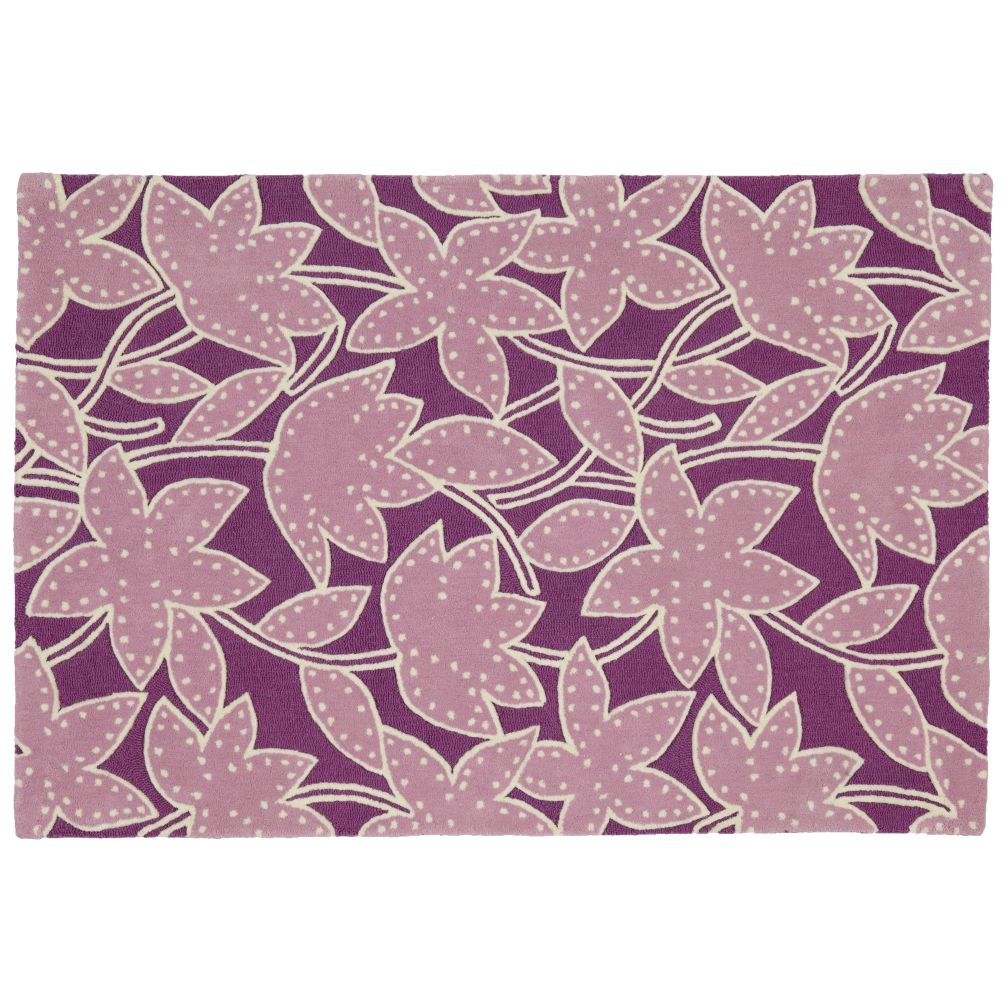 Padded Lily Rug (Lavender)