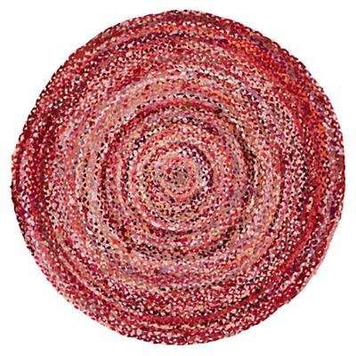 Ring Around the Ribbon Rug (Pink)