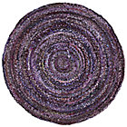 5&amp;#39; dia. Purple Ribbon Rug